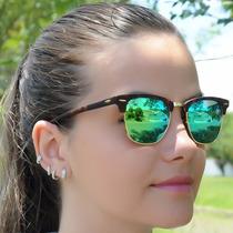 Óculos Ray Ban Rb3016 Clubmaster Espelhado. Original!!