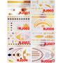 Tattos Flash - Tatuagem Ouro / Gold /metálica 12 Por R$99,90