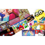 Capa Case Tablet 7 Univ Frozen Minions Play4 Lg Samsung Fost