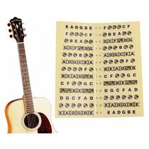 Adesivo Escala Marcador Notas Violão Guitarra Frete R$ 8,00