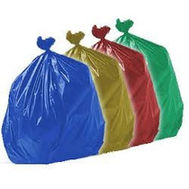 Saco Para Lixo Coleta Seletiva Fino 100l