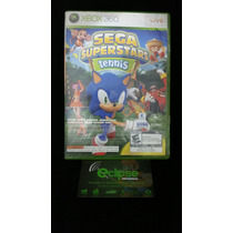 Jogo Game Xbox-360 Sega Superstars Tênis Semi-novo