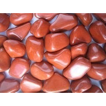 3 Pedras Jaspe Vermelho Tamanho 3 A 4 Cm Só 10,00