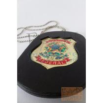 Distintivo De Pescoço Cintura Justiça Federal Não É Polícia