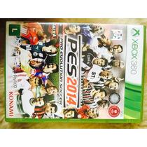 Jogo Pes 2014 Xbox 360, Original, Lacrado, Novo