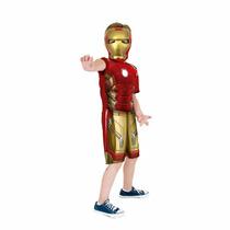 Fantasia Homem De Ferro P Infantil Iron Man