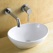 Cuba Banheiro De Sobrepor Porcelana Vitrificada Linda 8021