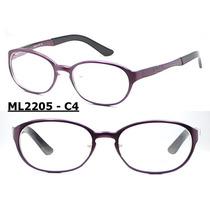 Armação Óculos De Grau Aluminio Varios Modelos E Cor Unissex
