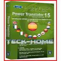 # Power Translator 15 Tradutor Completo 13 Indiomas+ Licença