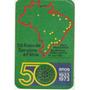 Calendário Bolso 1973 - Touring Club Do Brasil 50 Anos - F1