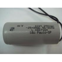 Capacitor 40uf/250v Para Motor De Portão Automático