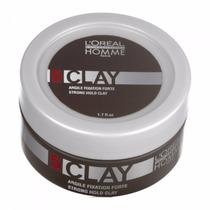 Loreal Homme Pomada Modeladora 5 Clay 50ml