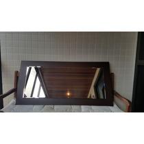 Espelho Parede Com Moldura Em Madeira - Tok & Stok