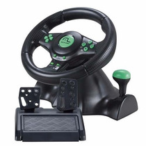 Volante 4x1 Multilaser - Ps2 - Ps3 - Xbox360 - Pc