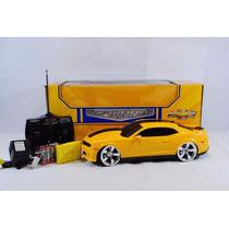 Camaro De Controle - 1:14/4 Bateria Recarregavel