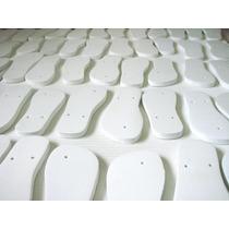 Chinelo Para Sublimação Resinados Kit C/ 10 Pares - C1