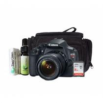 Maquina Fotográfica Profissional Canon Rebel T5 18mp Preta