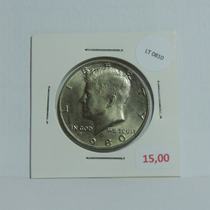 Moeda Eua Half Dollar 1980 Letra P Kennedy - Lt0810