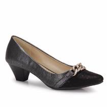 Sapato Salto 5 Cm Mooncity Novo Original Mais Brinde
