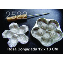 Frisador Modelagem De Flores E Tecidos Rosa Conjugada 2522