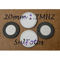 Piezo Ceramico Pastilha Disco Para Umidificador 20mm 1,7mhz
