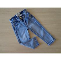 Calça Jeans Infantil Lilica Ripilica Com Detalhe No Bolso