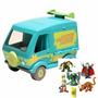 C21 - Maquina Mistério Caça-fantasmas + 5 Personagens Scooby