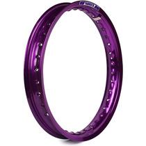 Aro De Moto Alumínio 18 X 1.85 Fabreck Colorido - Violeta