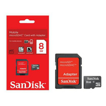 Cartao Memoria Micro Sd 8gb Sandisk Original Lacrado
