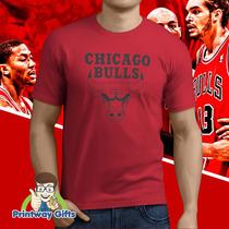 Camiseta Chicago Bulls - Nba - Temos Todos Os Times!