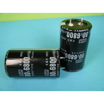Capacitor Eletrolitico 6.800uf X 80v * 6800uf X 80v * 105ºc