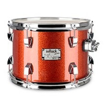 Tom De 8 Bateria C/ Clamp (odery) Copper Sparkle