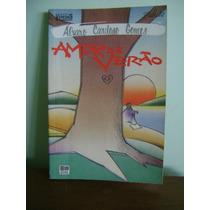 Livro Amor De Verão - Alvaro Cardoso Gomes