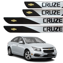 Kit De Soleira Resinada Autocolante Para Chevrolet Cruze