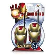 Walkie Talkie Iron Man Homem Ferro Disney Marvel Avengers