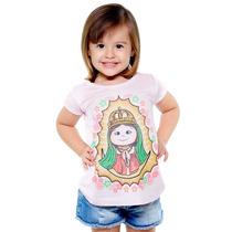 Camiseta Religiosa Infantil - Nossa Senhora De Guadalupe
