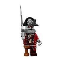 Lego Minifigures Series 14 Zombie Pirate Lacrado By Tbc