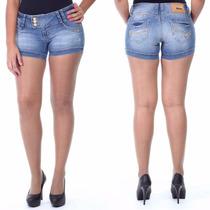 Sawary Short Jeans Levanta Bumbum Cós Largo Sabrina Sato