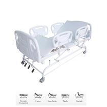 Cama Fawler Hospitalar Manual C/ Elevação De Leito Cm-011lx