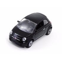 Miniatura Fiat 500 Preto Escala 1\43 - Norev 770031