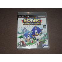 Sonic Generations ( Jogo Original Ps3 Mídia Física )