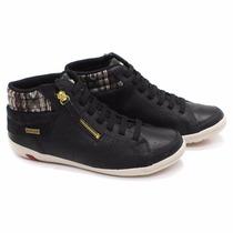 Tênis Bota Ankle Boot Kolosh C0407 Couro Feminino Conforto