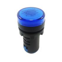 Sinaleiro Led 22mm Azul 220v