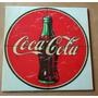 Quadro Refrigerante Coca Cola Retrô Imita Azulejo Bar