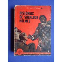 Livro - Histórias De Sherlock Holmes - Conan Doyle