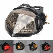 Lanterna Leds Piscas Integrados Kawasaki Ninja 250r Led 250