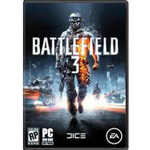 Jogo Battlefield 3 - Pc Dvd - Original E Lacrado - Origin