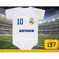 Body Real Madrid  Time Espanhol Temos Camiseta Infantil