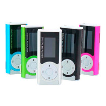 Mini Mp3 Player Rádio Fm Shuflle Clip Fone Cabo Suporta 8gb