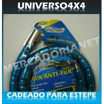 Cadeado Estepe, Trava Antifurto, Ecosport, Novaeco,spin, Tr4